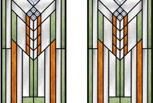 Frank Lloyd Wright Glas Design