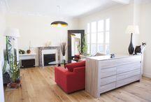 Appartement E / Rénovation complète d'un appartement de type trois pièces
