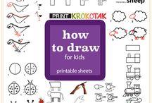kiddy drawings