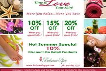 Promotions - Balsam Spa Newmarket