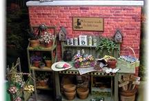 Mini - zahrada, květiny