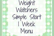 WW menus