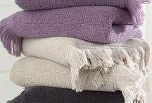 FRINGE - kolekce střapatých ručníků a osušek / Kolekce luxusních ručníků a osušek FRINGE.