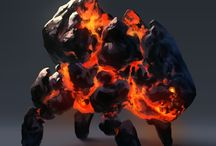 Creature design: Fire