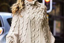 Ponchos trico