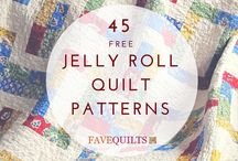 Quilting using Jelly Rolls
