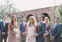 Wedding dress and suite colours