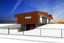 Štúdie / Štúdiové návrhy nízkoenergetických rodinných domov na kľúč.