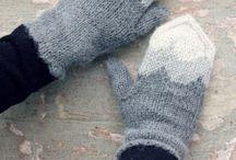 Neulemalleja / Kirjoneuleita lapasiin ja sukkiin