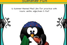 Mad Libs for kids / Great collection of teacher-created mad libs for kids.