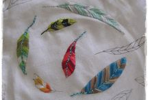 patchwork, quilts en borduren/ embroidery