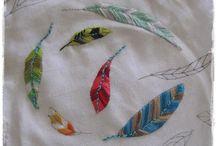 patchwork, quilts en borduren/ embroidery