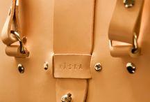 Interesting leather strap
