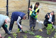 Bradford Works / This was all part of the 'Bradford Work's' scheme in which they offer experience and volunteering opportunities to support vulnerable groups, and they also undertake domestic garden work for older people and others in need for very competitive rates.