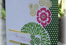 Betsy's Blossoms - Stampin' Up (retired) / by Diana Crawford