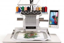 My embroidery machine
