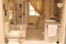 Dollhouse bathroom