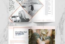 magazine layouts and more