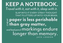 Journaling and Writing / by Frances Keeler