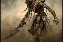 Creatures/Enemies Earthdawn/Fantasy RPG