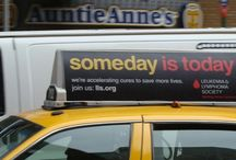 Taxi Top Advertising / What do you see all over NYC? Taxis! How do you get people to see your ad in NYC? Put it on taxis!