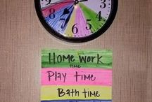 Organisational Hacks / Perfect for children and about the house.