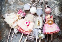 FRENCH DOLL NECKLACES