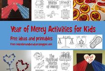 Year of Mercy / Faithful, educational and fun ways to celebrate the Jubilee Holy Year of Mercy. Catholic-inspired DIY activities and crafts for the family and more!
