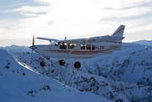 Scenic Flying / Scenic flying around Mount Aspiring, New Zealand with Glenorchy Air