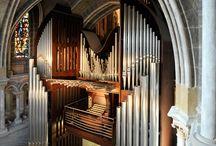 Pipe organ etc.