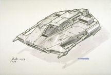 Star wars starships and concepts