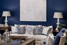 Navy Blue Decor