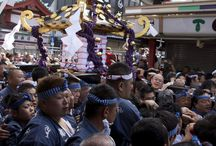 Sanja-matsuri / One of the biggest and most exciting festivals to take place in Japan happens just outside our front door!