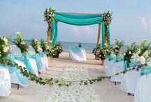 tropical wedding in raro
