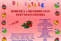 Mercatini Natale 2016 Sant'Agata Feltria
