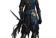Male Assasins / Male, assasins, rogues, hunters, characters, fantasy, graphics, art