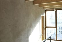 Clay plaster. Perfect home