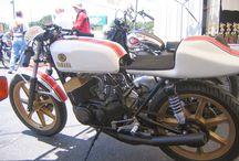 RD 125 cafe racer