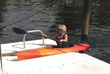 Kayak Docks- Safe Launch / Kayak Docks with Safe Launch for easier and safer access to the water for all kayakers