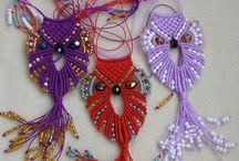 colliers macramé