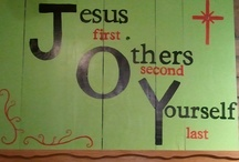 JOY IN JESUS / by Yvonne Baxter