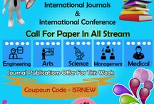call for papers in isrjournals and international conference