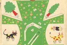 vintage paper cut-outs