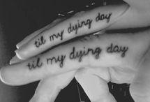 My body is a wonderland / tattoos