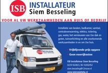 ISB Installateur Siem Besseling / www,isbinstallatie.nl eenmanszaak aangesloten bij Casius en MP(zie resencies) info@isbinstallatie.nl siem.besseling@12move.nl voor al Uw klussen