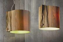 wooden lighting