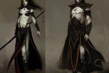 Dark Elf & Drow