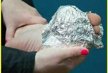 aluminium foil pijn