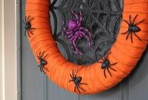 Halloween ~ spider craft