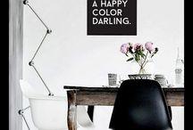 Arbeitszimmer / Ideen für das Homeoffice, Möbel und Dekoration, Regale, Verstauen, Wanddeko